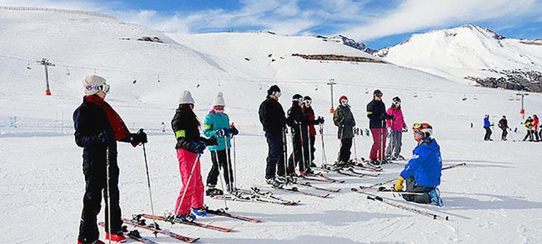 Vai esquiar pela primeira vez?