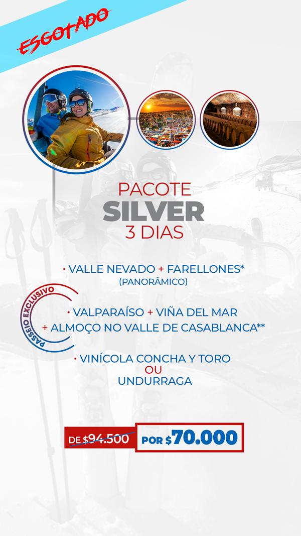Pacotes para o Chile - APROVEITE AGORA! PACOTE SILVER